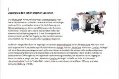 Mammographie- und Biopsiegerät, beschafft 2008 zusammen mit der Gesellschaft zur Förderung des Klinikums Fürth, Bild des Gerätes siehe Spendenseite